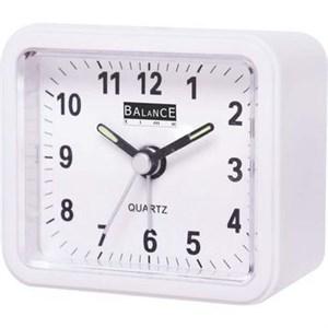 Image of   Balance | Alarm Clock | Analogue | White