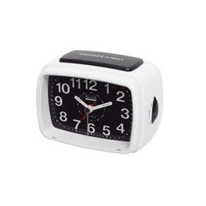 Image of   Balance | Quartz Alarm Clock | Analogue | White/Black