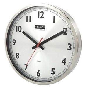 Image of   Balance | Wall Clock | 30 cm | Analogue | Aluminum