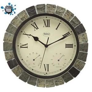 Image of   Balance | Wall Clock | Splash Proof | 30 cm | Stone Look