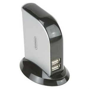 Image of   Be Blue 7-port USB2.0 HUB Self Powered (PwrAdp 5V=/2.5A)
