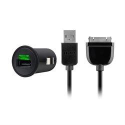 Biloplader 1-Udgang 2.1 A USB Sort
