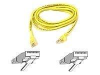 Patch cable - RJ-45(M) - RJ-45(M) - 15m - UTP ( CAT 5e ) - Yellow netværkskabel Gul