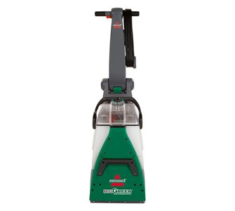 Image of   Big Green carpet cleaner, 8 brushes, forward and backward, gre