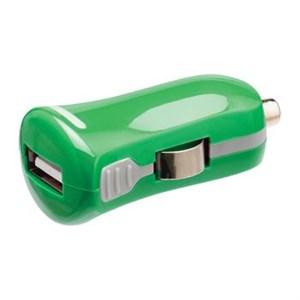 Image of   Biloplader 1-Udgang 2.1 A USB Grøn