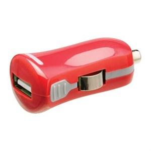 Image of   Biloplader 1-Udgang 2.1 A USB Rød