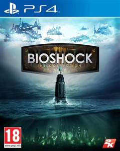 Image of   Bioshock: The Collection, PlayStation 4 videospil Basis+DLC