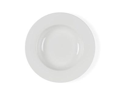 Image of   Dyb tall. 23 cm hvid Bitz