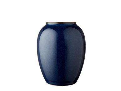 Image of   Vase 12,5 cm Blå Bitz