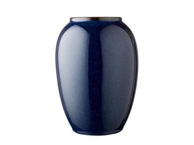 Image of   Vase 20 cm Blå Bitz