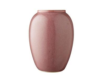 Image of   Vase 20 cm Lyserød Bitz