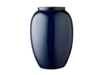 Image of   Vase 25 cm Blå Bitz