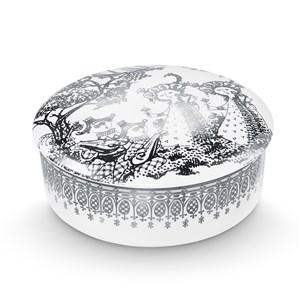 Image of   Mascarade Lågkrukke sølv Ø16 cm
