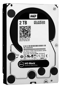 "Image of   Black 3.5"" 2000 GB Serial ATA III"