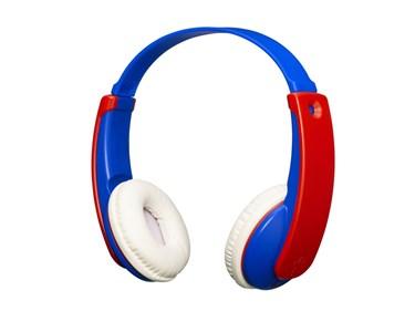 Image of   Bluetooth børnehovedtelefoner med volumebegrænser. Blå