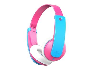 Image of   Bluetooth børnehovedtelefoner med volumebegrænser. Pink