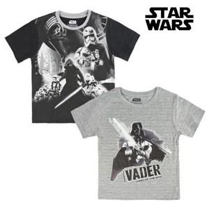 Børne Kortærmet T-shirt Star Wars 72677 4 år