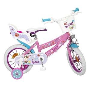 """Billede af Børnecykel Toimsa Fantasy Walk 12"""" Pink Hvid"""