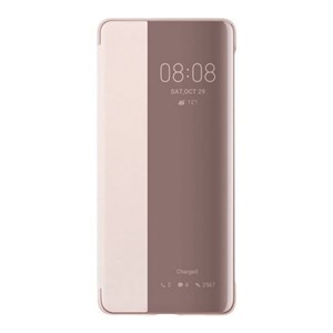 Image of   Bog-case Huawei P30 Pro Flip Cover Pink