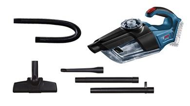 Image of   GAS 18V-1 Professional håndholdt støvsuger Poseløs Sort, Blå, Rød, Gennemsigtig