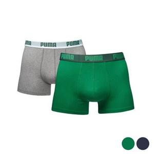 Image of   Boxershorts til mænd Puma BASIC (Usa størrelse) Grøn XL