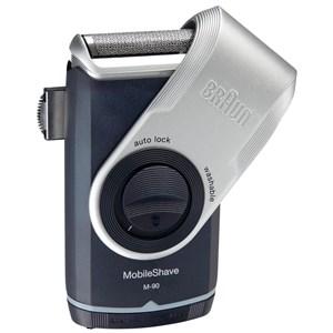 Image of   MobileShave PocketGo M90 Blå, Sølv