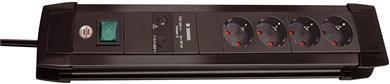 Image of   Premium-Line Surge Protection 30.000 A overspændingsbeskytter 4 AC stikkontakt(er) 1,8 m Sort