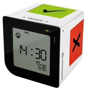 Image of   FLIPME Digital alarmur Sort, Hvid