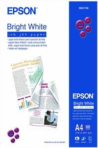 Bright, DIN A4, 90g/m² fotopapir Hvid Glans