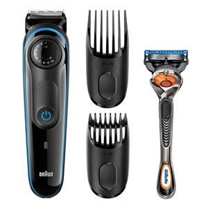 Image of   BT3940 barbermaskine til ham Folie shaver Trimmer Sort, Blå