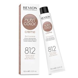 Hårcreme med farve Revlon 812 - light pearly beige blonde 100 ml
