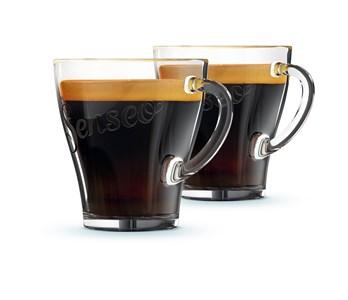 Image of   CA6510/00 kop Transparent Kaffe 2 stk