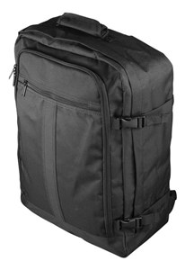 Image of   Cabin backpack, 55x40x20cm, flight approved, black