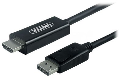Unitek CABLE DISPLAYPORT TO HDMI 1,8M, Y-5118CA