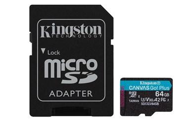 Canvas Go! Plus hukommelseskort 64 GB MicroSD Klasse 10 UHS-I