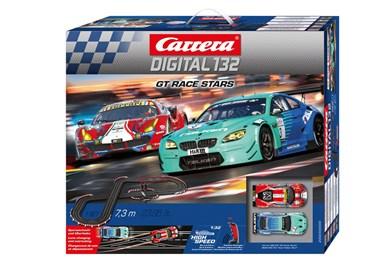 Image of   GT Race Stars spor til legetøjsbil