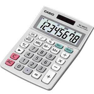 Casio calculator MS-88ECO, Grey