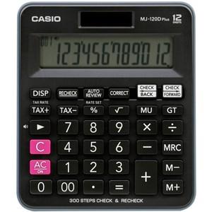 MJ-120D Plus regnemaskine Desktop Basis Sort
