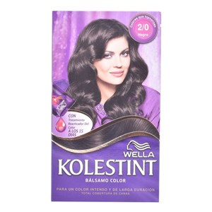 Farve i Creme Kolestint Wella 2.8 - bluish black