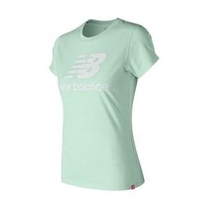 Kortærmet T-shirt til Kvinder New Balance WT91546WVP Grøn XS