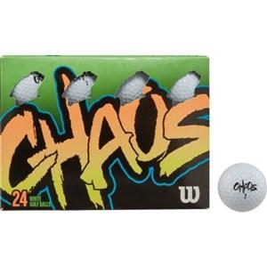 - CHAOS 24 ball WHITE GOLF BALLS