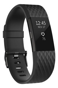 Fitbit Charge 2 - Gun Metal - Small