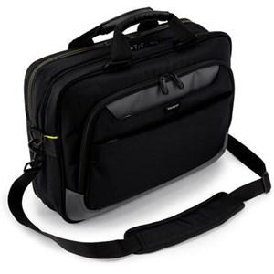 """Image of   CityGear taske og etui til notebook 43,9 cm (17.3"""") Brevtaske Sort"""
