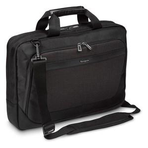 """Image of   CitySmart taske og etui til notebook 39,6 cm (15.6"""") Mappe Sort, Grå"""