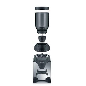 Billede af CM 820 kaffemølle Burr kværn Sort, Rustfrit stål 128 W