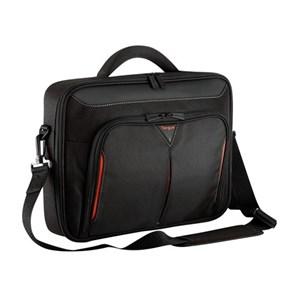 """Image of   CN414EU taske og etui til notebook 36,3 cm (14.3"""") Mappe Sort, Rød"""