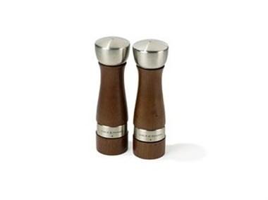 Cole & Mason Salt&peber Oldbury træ/stål saltkværn peberkværn