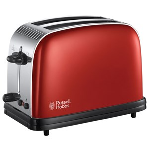 Image of   Colours Red 2 Slice Toaster