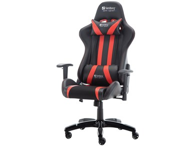 Image of   Commander Gaming Chair, Black/Red