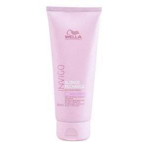 Conditioner til farvet hår Invigo Blonde Recharge Wella (200 ml)